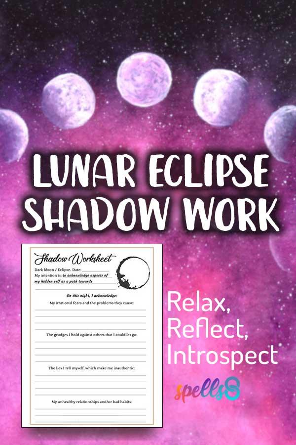 Lunar Eclipse & Dark Moon Shadow Work