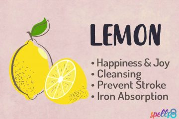 Spiritual Usage of Lemon