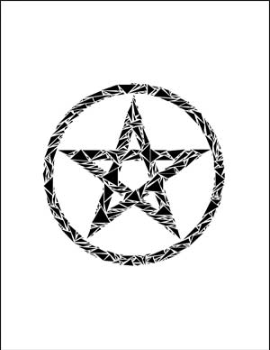 Pentacle for my Altar