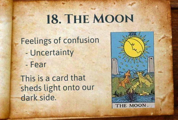 The Moon Tarot Interpretation