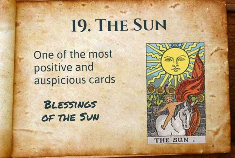 The Sun Tarot Interpretation Upright & Reversed Meaning