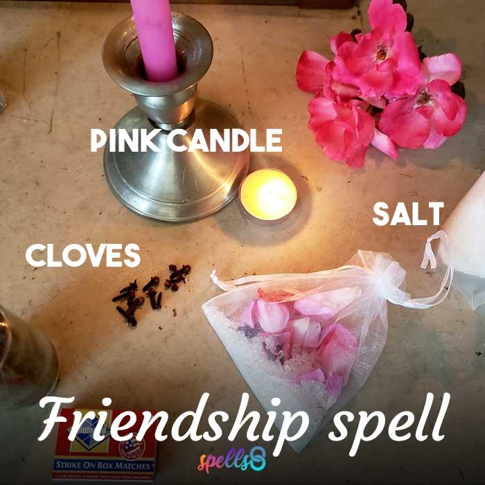 Easy Friendship Spell Bag