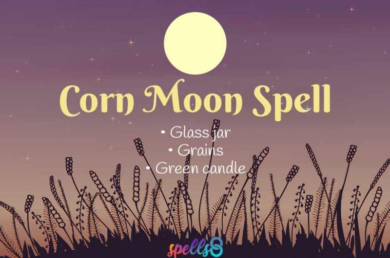 Full Corn Moon Ritual & Spell