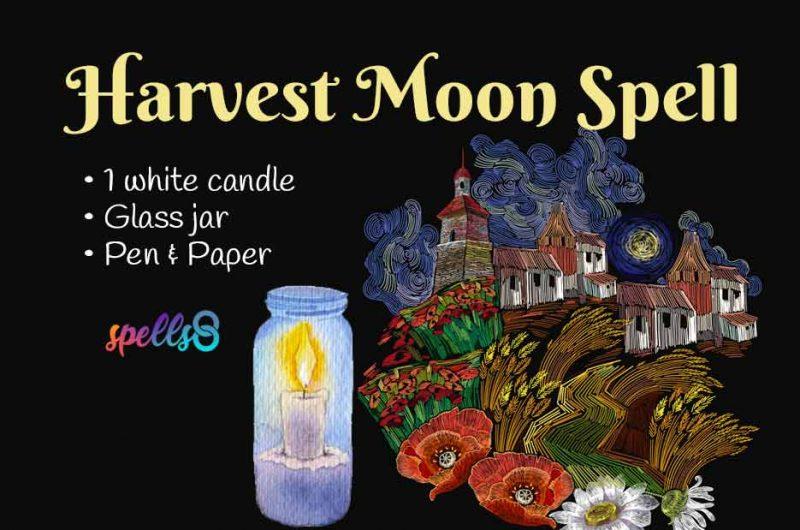 Harvest Full Moon Ritual & Spell