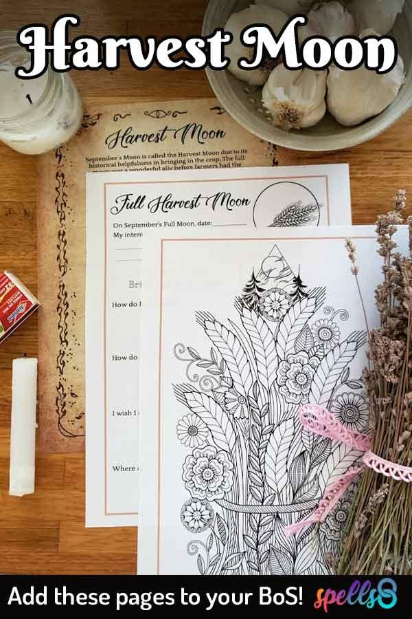 Harvest Moon Magick Ritual