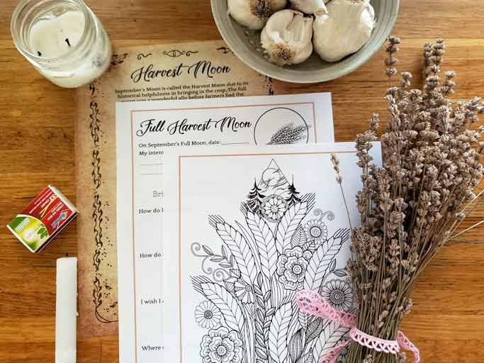 Harvest Moon Magic Ritual