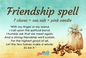 Wiccan Friendship Spell