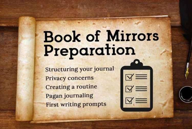 Book of Mirrors Preparation Guide Journaling