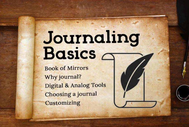 Journaling Basics Book of Mirrors
