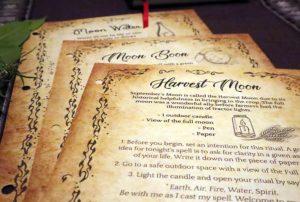 Lunar Witch Grimoire: Magic Spells in PDF Book