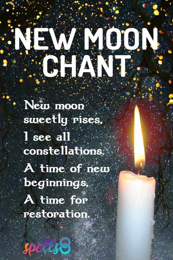 New Moon Ritual Chant / Prayer