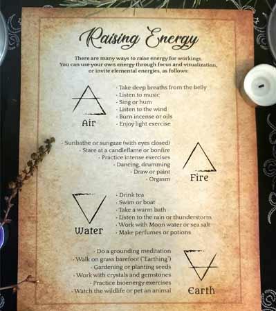Raising Energy Techniques