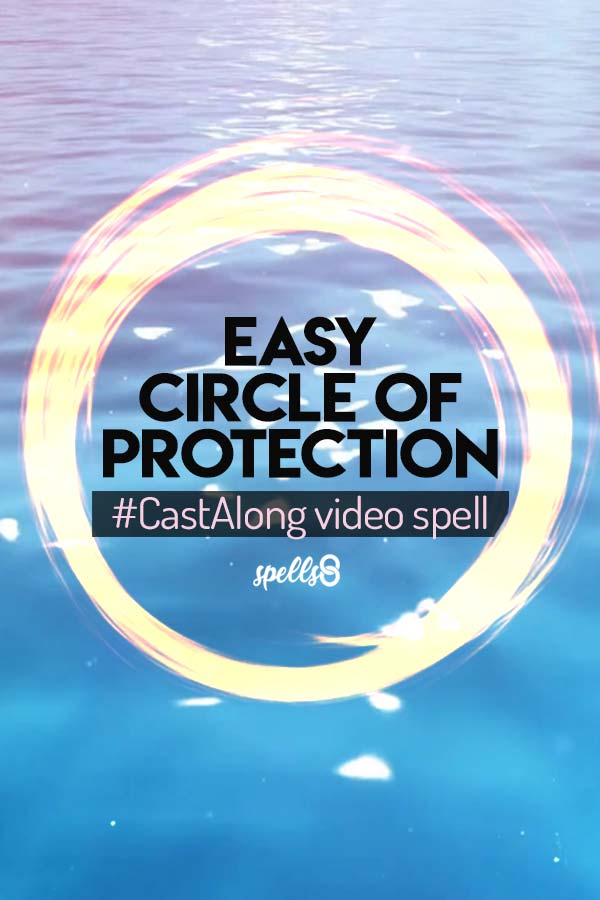 Visualizing a circle of protection