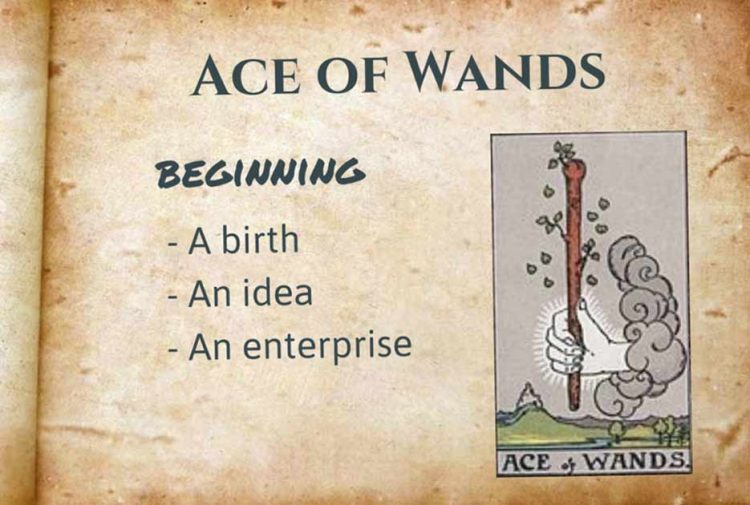 Ace of Wands Upright