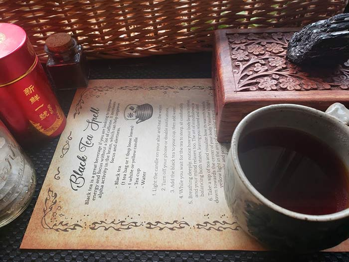Tea Magick Witchcraft