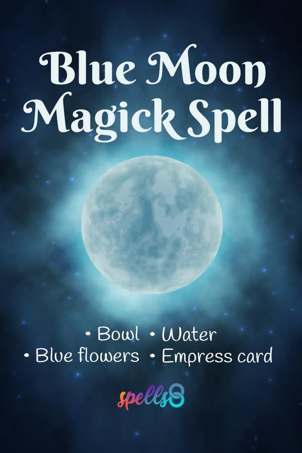 Blue Moon Ritual Witchcraft