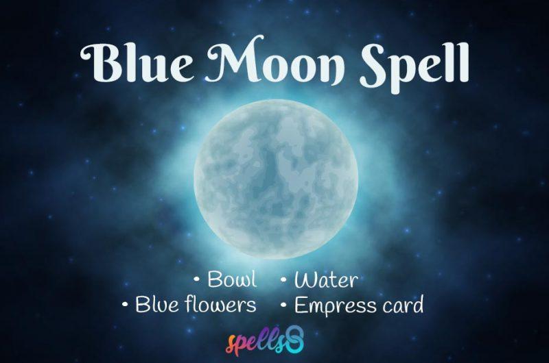 Blue Moon Ritual & Spell