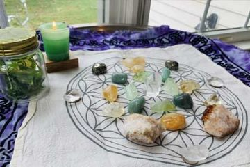 Crystal Grid Prosperity
