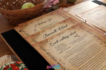 Grimoire Pages Witchcraft Spells