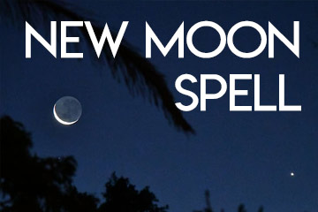 New Moon Cleansing Spell