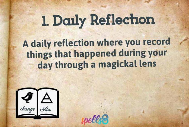 Pagan Journaling Book of Mirrors