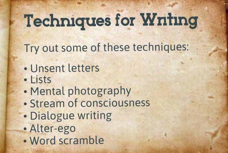 Journaling Techniques Lesson