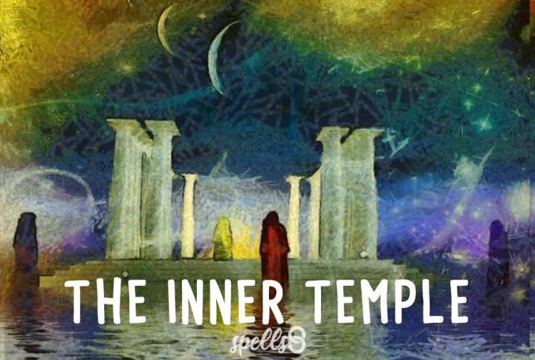The Inner Temple for Casting Spells without Tools