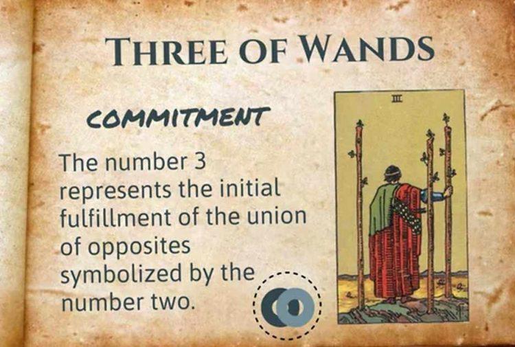 Three of wands Tarot