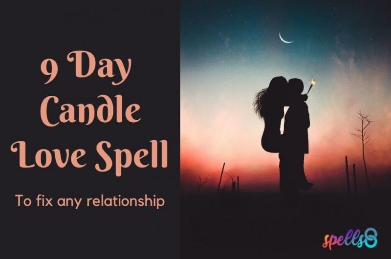 9 Day Candle Love Spell: To Fix Any Relationship
