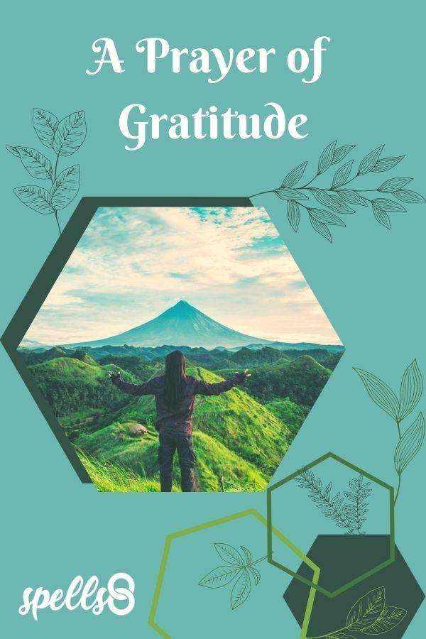 Pagan Gratitude Prayer