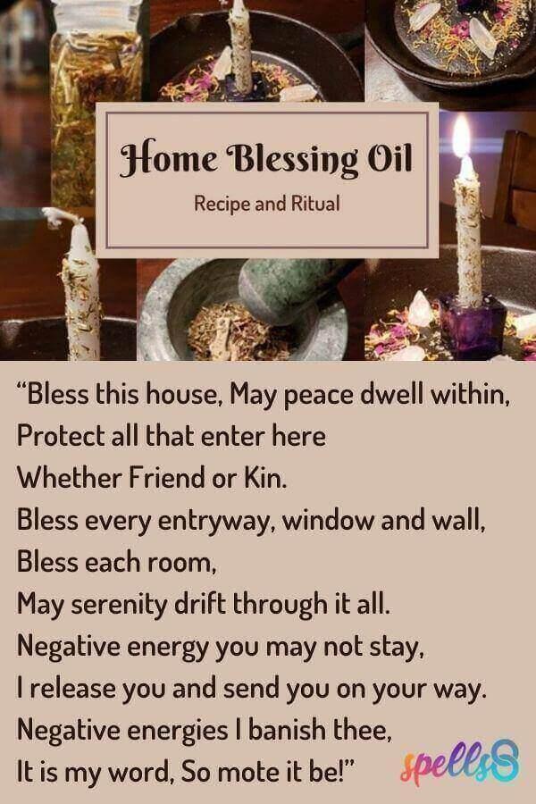 Home Blessing Oil Recipe