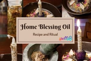 Home Blessing Oil Recipe