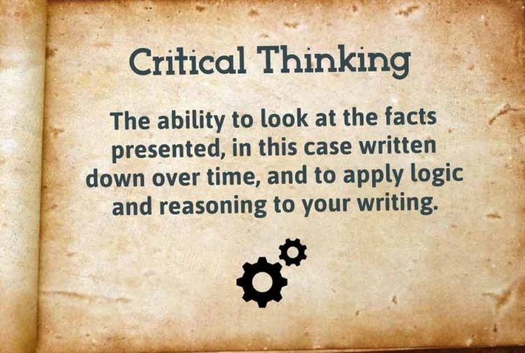 Critical Thinking and Journaling