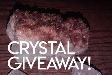 Crystal Giveaway Challenge