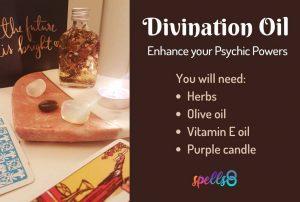 Divination Oil Enhance Psychic Powers