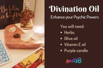 Divination Oil Enhance Psychic Powers