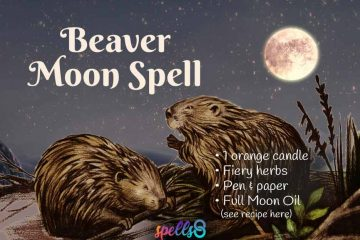 Full Beaver Moon Spell