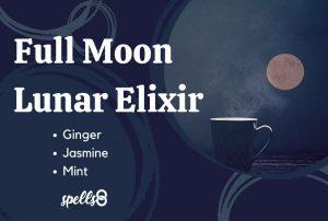 Full Moon lunar elixir