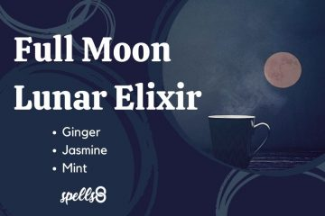 Full Moon lunar elixir