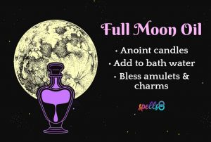 Full Moon Oil Witch Recipe