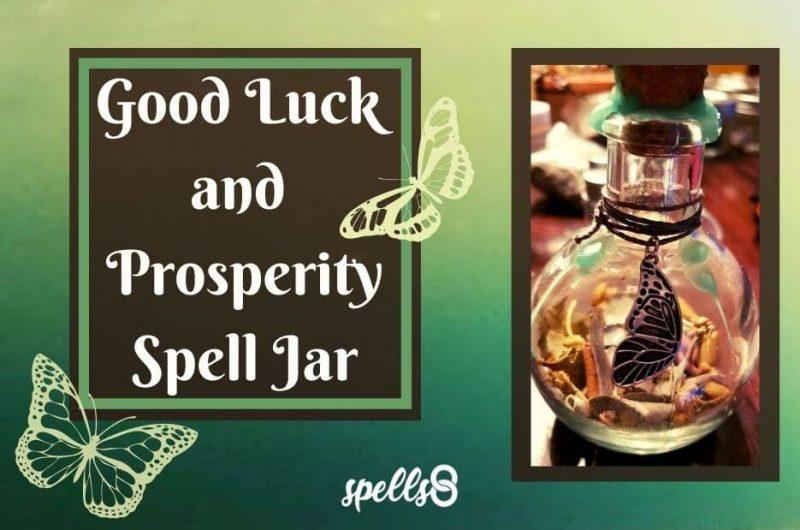 Good Luck and Prosperity Spell Jar