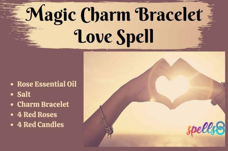 Magic Charm Bracelet Love Spell (and Rose Bath)