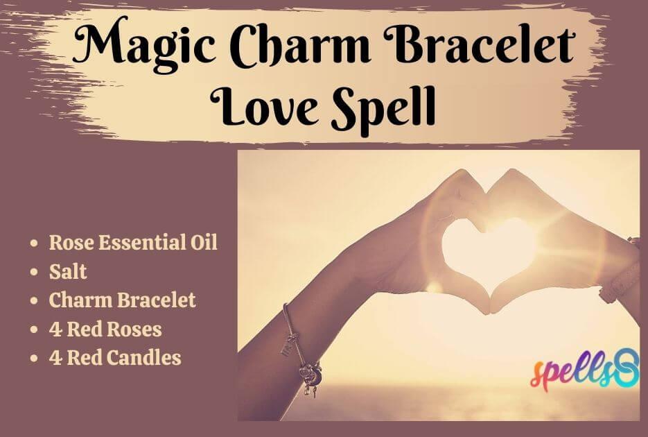 Bracelet Charm Spell