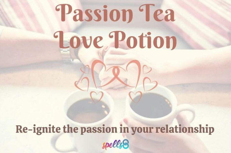 Passion Tea Love Potion: Re-ignite the passion in your relationship