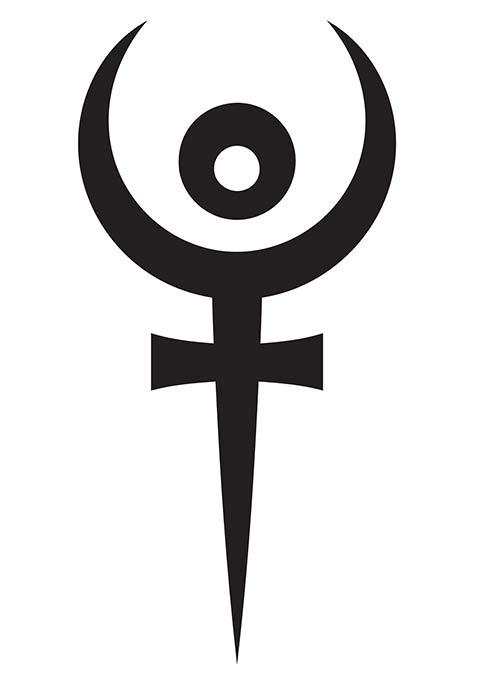 Pluto's symbol