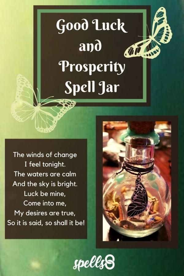 Good Luck Spell Jar