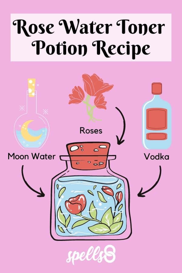 Rose Water Potion Spell