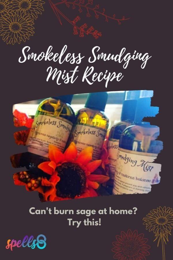Smokeless Smudge Recipe