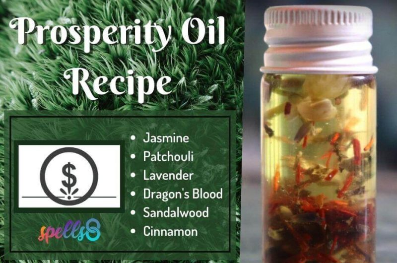Prosperity Oil Recipe: Attract Good Fortune in Abundance!