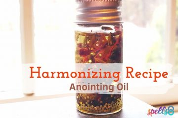 Harmonizing Anointing Oil